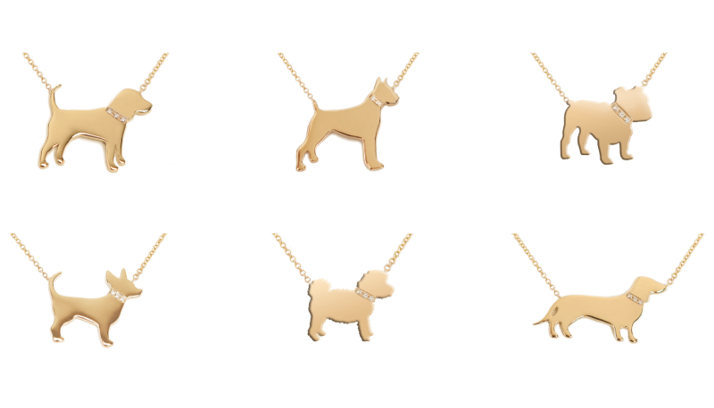 Dazzling Dog Breed Necklaces For Dog Moms