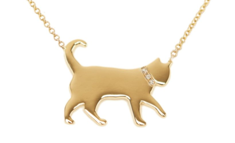 Dazzling Kitty Necklaces For Cat Ladies